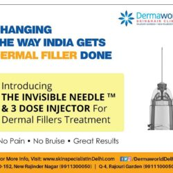Best Dermal Filler in Delhi using The Invisible Needle