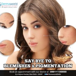 Say bye to pigmentation & blemishes