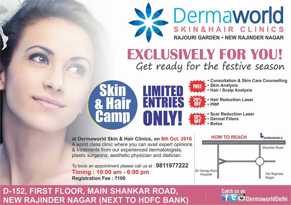 best skin & hair clinic in Delhi