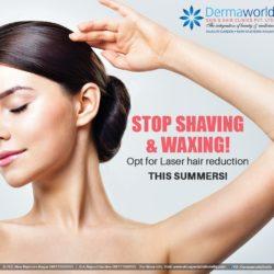 Best laser hair reduction treatment in West Delhi